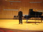 Tomasz Ritter after the concert